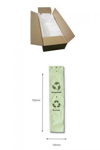100% Biodegradable Umbrella Bags – Large
