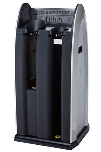 Dual Wet Umbrella Bagging Machine ABS Plastic