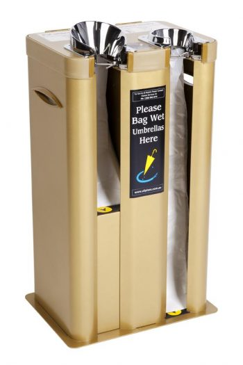Dual Wet Umbrella Bagging Machine P/Steel – Gold