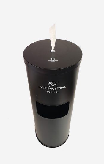 Wet Wipes Dispenser – Freestanding With Bin